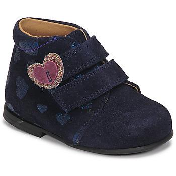 Schuhe Mädchen Boots Citrouille et Compagnie NONUP Marine