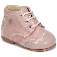 Schuhe Mädchen Boots Citrouille et Compagnie NONUP Rose