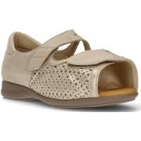 Schuhe Damen Sandalen / Sandaletten Calzamedi CUTTING ORTHOPEDIC SANDAL BEIGE