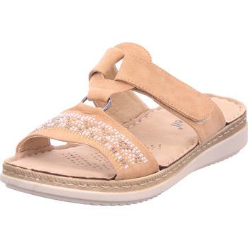 Schuhe Damen Pantoffel Hengst - B31254.121 beige