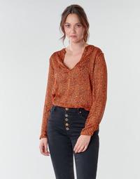 Kleidung Damen Tops / Blusen Moony Mood NOUM Braun