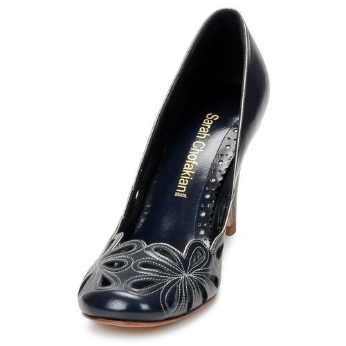 Sarah Chofakian BELLE EPOQUE Silbern Schuhe Pumps Damen 197,50