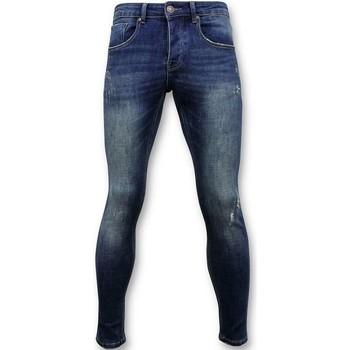 Kleidung Herren Röhrenjeans True Rise Classic Grund Jeans D Blau