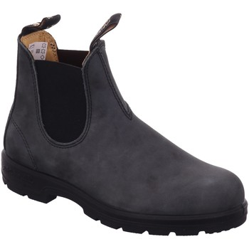 Schuhe Damen Boots Blundstone Stiefeletten 587-schwarz D Rustic grau