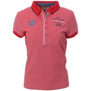 Kleidung Damen Polohemden Les voiles de St Tropez V8POW01-902 Rot