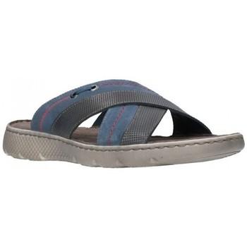 Schuhe Herren Pantoffel T2in R92351 jeans Hombre Jeans bleu