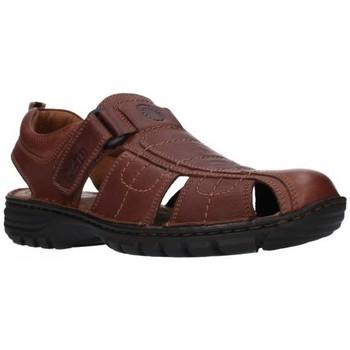 Schuhe Herren Sandalen / Sandaletten T2in R-2071 Cofee Hombre Marron marron