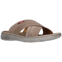 Schuhe Herren Pantoffel T2in R92351 Taupe Hombre Taupe marron