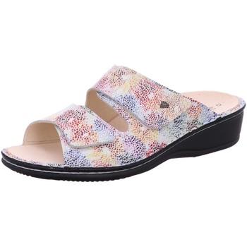 Schuhe Damen Pantoffel Finn Comfort Pantoletten 02519 bunt