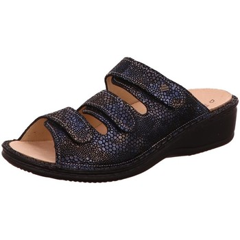 Schuhe Damen Pantoffel Diverse Pantoletten 1030997 blau