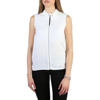 Kleidung Damen Hemden Armani jeans - 6y5c03_5ndhz Weiss