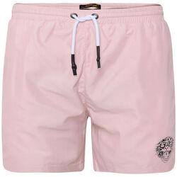 Kleidung Herren Badeanzug /Badeshorts Ed Hardy - Roar-head swim short dusty pink Rose