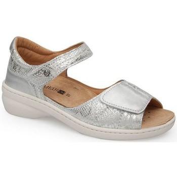 Schuhe Damen Sandalen / Sandaletten Calzamedi FASHION SANDAL PLATIN