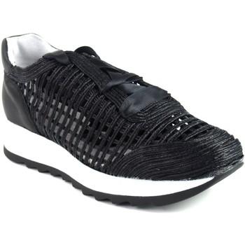 Schuhe Damen Slip on Csy Damenschuh CO & SO g050 schwarz Schwarz
