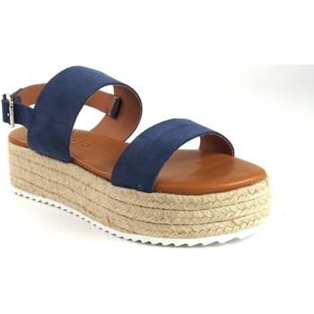 Schuhe Damen Sandalen / Sandaletten Csy Damensandale CO & SO 23021 blau Blau