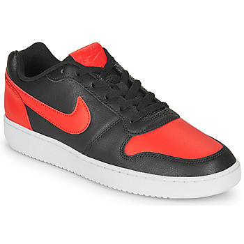 Schuhe Herren Sneaker Low Nike EBERNON LOW Schwarz / Rot