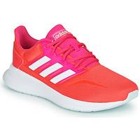Schuhe Damen Sneaker Low adidas Performance RUNFALCON Rot / Rose