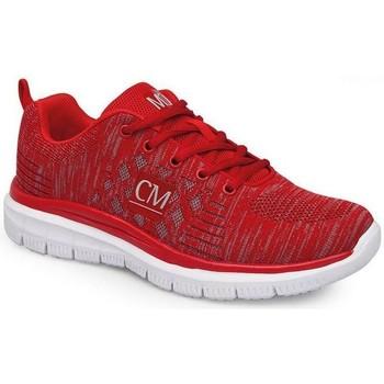 Schuhe Damen Sneaker Low Calzamedi SPORT SCHUHE ROT
