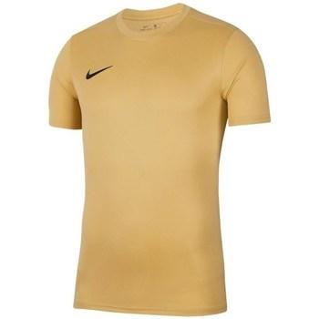 Kleidung Herren T-Shirts Nike Park Vii Beige