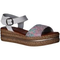 Schuhe Damen Sandalen / Sandaletten Lola Rico 808001 Blanco