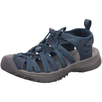 Schuhe Damen Sandalen / Sandaletten Keen Sandaletten WHISPER 1022809 grau