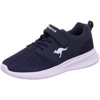 Schuhe Jungen Sneaker Low Kangaroos Low KL-HINU EV 18518-4269 blau
