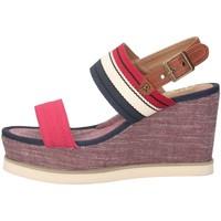 Schuhe Damen Sandalen / Sandaletten Refresh 69909 Sandalen Frau ROT ROT