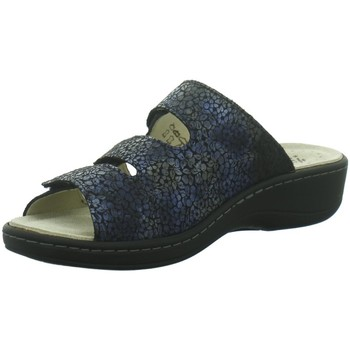 Schuhe Damen Pantoletten / Clogs Hickersberger Pantoletten Pantolette Vario 5111,7304 blau