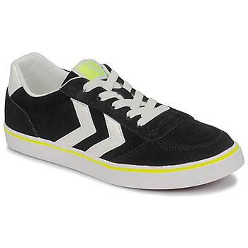 Schuhe Kinder Sneaker Low Hummel STADIL 3.0 JR Schwarz / Weiss