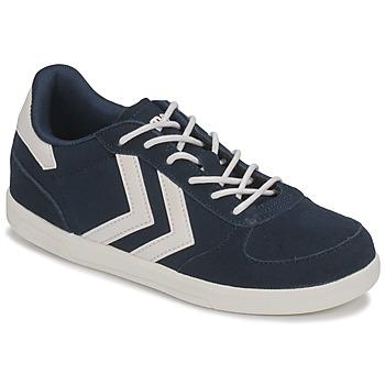 Schuhe Kinder Sneaker Low Hummel VICTORY JR Blau