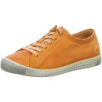Schuhe Damen Sneaker Low Softinos Schnuerschuhe Isla 900154-588 orange