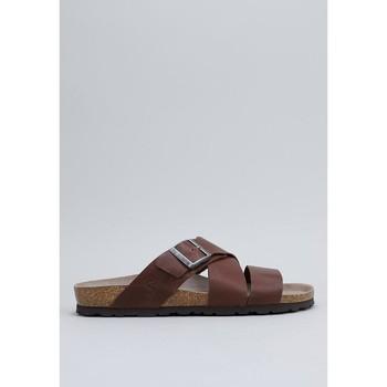Schuhe Herren Pantoletten Senses & Shoes OLSEN Braun