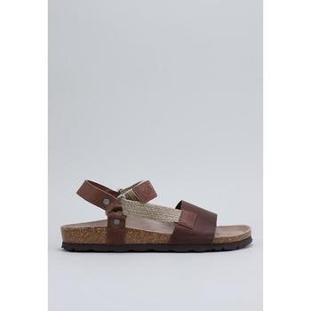 Schuhe Herren Sandalen / Sandaletten Senses & Shoes TEIDE Braun