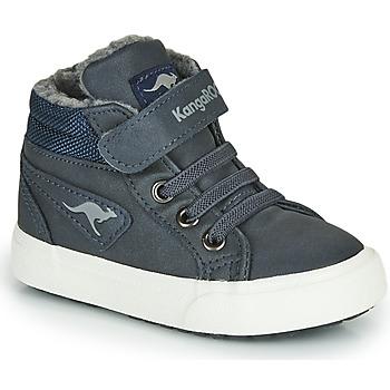 Schuhe Jungen Sneaker High Kangaroos KAVU I Blau