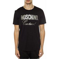 Kleidung Herren T-Shirts Moschino ZPA0715 Schwarz