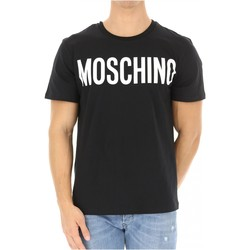 Kleidung Herren T-Shirts Love Moschino ZPA0705 Schwarz