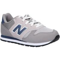 Schuhe Kinder Multisportschuhe New Balance YC373KG Gris