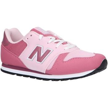 Schuhe Mädchen Multisportschuhe New Balance YC373KP Rosa