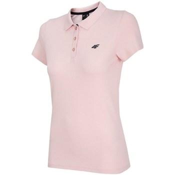 Kleidung Damen Polohemden 4F TSD007 Rosa