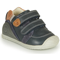 Schuhe Jungen Sneaker Low Biomecanics BOTIN VELCROS Marine