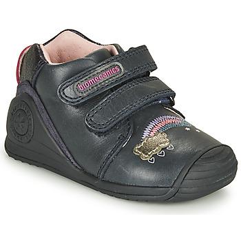 Schuhe Mädchen Sneaker Low Biomecanics BOTIN TWIN Marine
