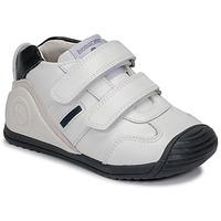 Schuhe Jungen Sneaker Low Biomecanics BIOGATEO SPORT Weiss