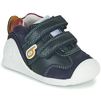 Schuhe Jungen Sneaker Low Biomecanics ZAPATO SPORT VELCRO Marine