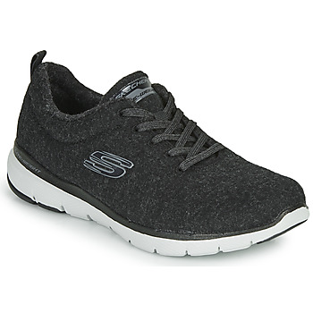 Schuhe Damen Fitness / Training Skechers FLEX APPEAL 3.0 PLUSH JOY Schwarz