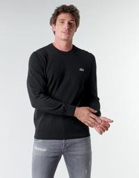 Kleidung Herren Pullover Lacoste AH1985 Schwarz