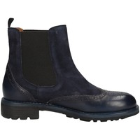 Schuhe Damen Ankle Boots Campanile CC284 BLAU