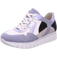Schuhe Damen Sneaker Low Semler Schnuerschuhe S-CH/S-N/MET-N. S2035728/585 blau