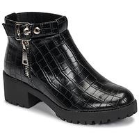 Schuhe Damen Boots Moony Mood NIETTE Schwarz