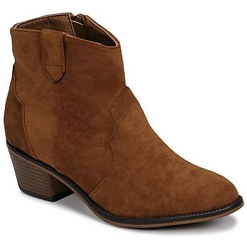 Schuhe Damen Boots Moony Mood NINITE Camel