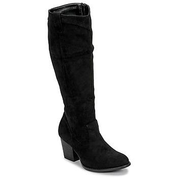 Schuhe Damen Klassische Stiefel Moony Mood NOEMA Schwarz